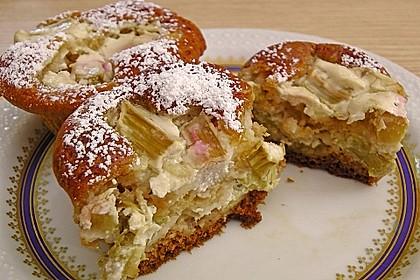 Rhabarber - Käsekuchen - Muffins 2