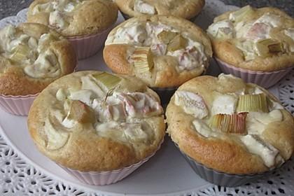 Rhabarber - Käsekuchen - Muffins 0
