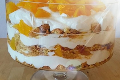 Pfirsich - Cantuccini - Trifle 3