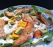 Avocado - Hähnchen - Salat