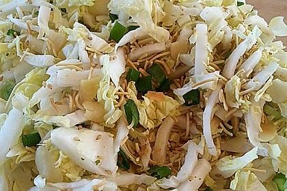 Chinakohlsalat mit Mie - Nudeln 3