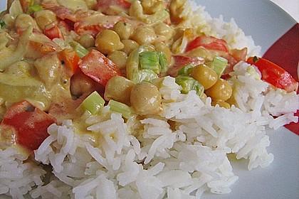Kichererbsen - Curry 4