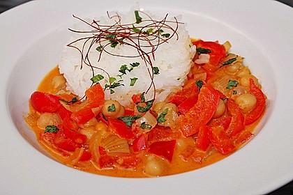 Kichererbsen - Curry 1