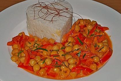 Kichererbsen - Curry 3