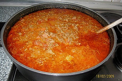 Die echte Sauce Bolognese 122