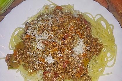 Die echte Sauce Bolognese 154