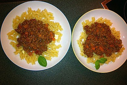 Die echte Sauce Bolognese 138