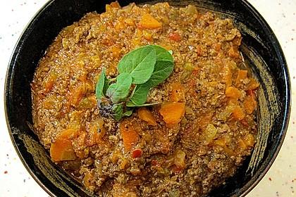 Die echte Sauce Bolognese 167