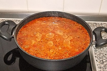 Die echte Sauce Bolognese 156