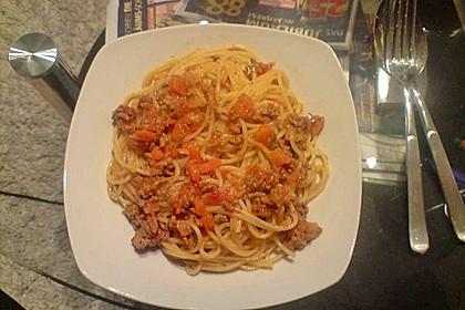 Die echte Sauce Bolognese 163