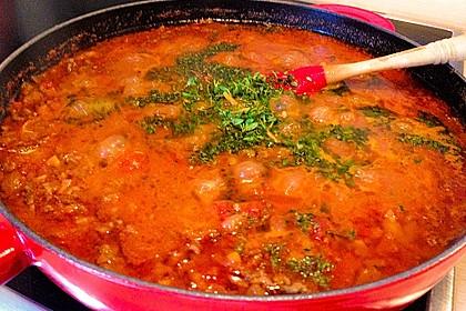 Die echte Sauce Bolognese 155