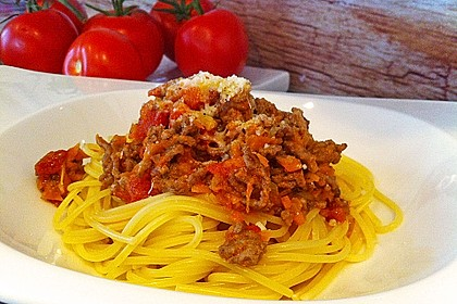 Die echte Sauce Bolognese 26