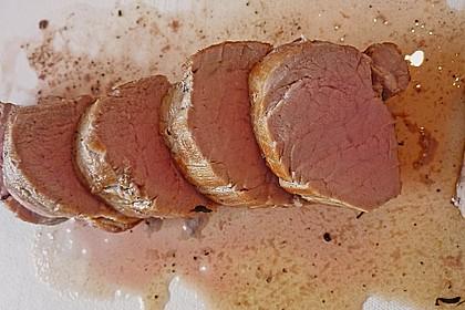 Schweinefilet in Balsamico - Sauce 10