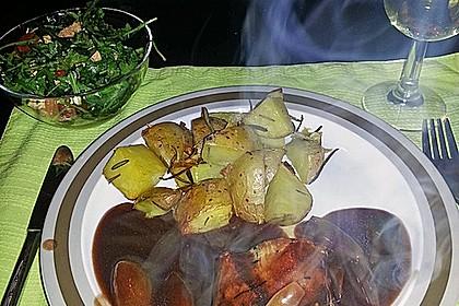 Schweinefilet in Balsamico - Sauce 7