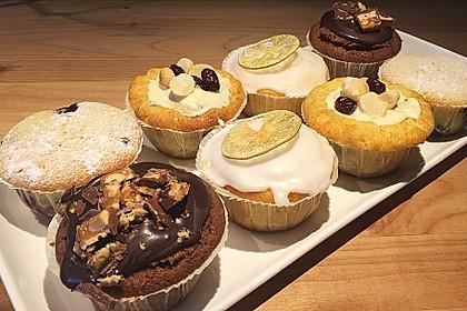 Grundrezept für Kuchen und Muffins 50