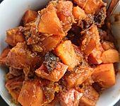 Kürbis-Pflaumen Gemüse