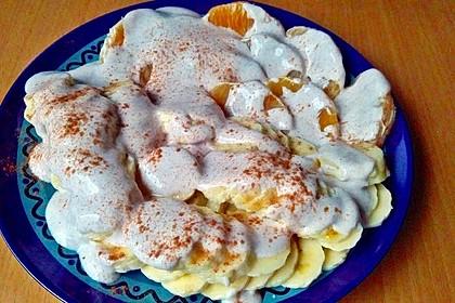 Bananensalat mit Zimtjoghurt 11