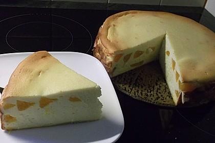 Käsekuchen ohne Boden 1