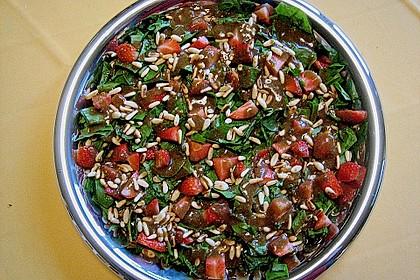 Erdbeer - Spinatsalat 4