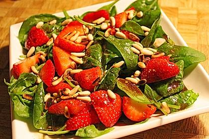 Erdbeer - Spinatsalat 1