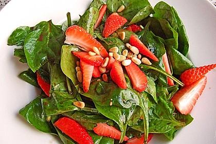 Erdbeer - Spinatsalat 3