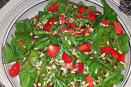 Erdbeer - Spinatsalat 5