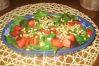 Erdbeer - Spinatsalat 2