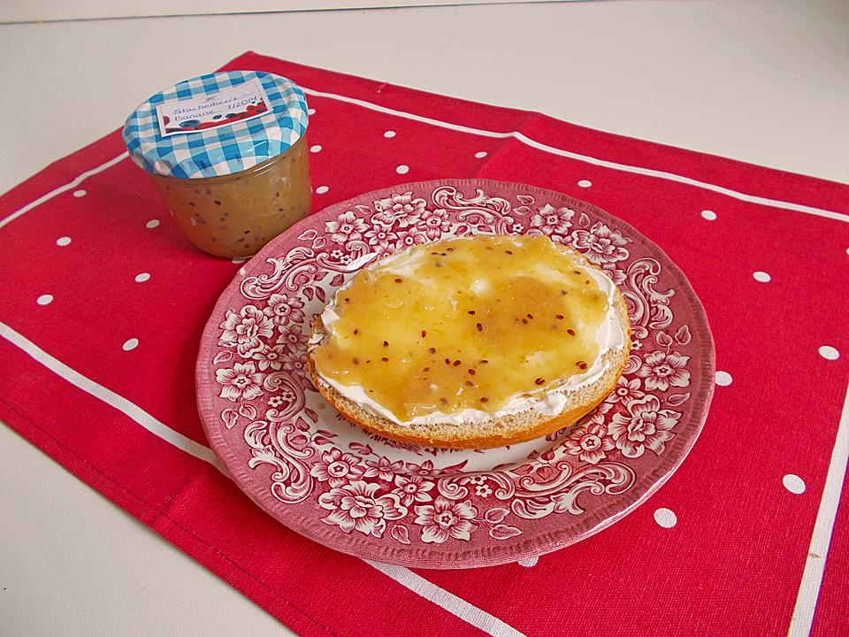 bananen stachelbeer marmelade von leomig. Black Bedroom Furniture Sets. Home Design Ideas