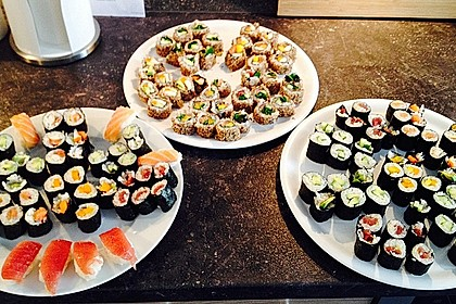 Sushi Variationen 8