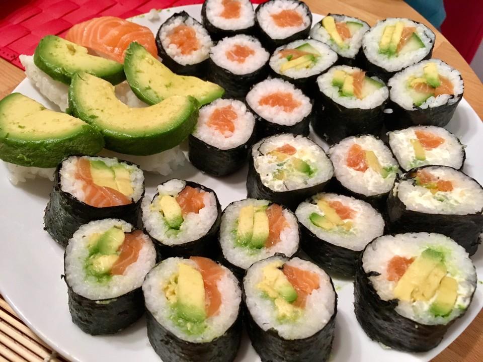 sushi reis von chefkoch. Black Bedroom Furniture Sets. Home Design Ideas