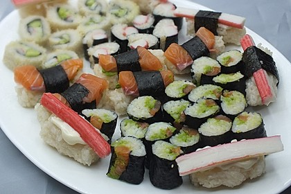 Sushi-Reis 10