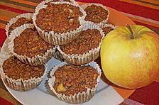Bananen - Apfel - Muffins