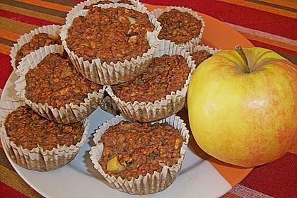 Bananen - Apfel - Muffins 1