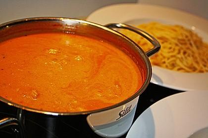 Paprika - Tomaten - Thunfisch Soße 4