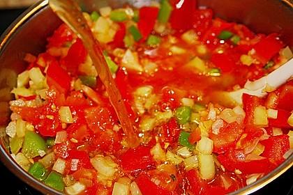 Paprika - Tomaten - Thunfisch Soße 1