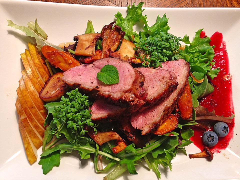 Entenbrust salat Rezepte   Chefkoch.de