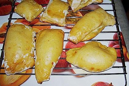 Kartoffeltaschen mit Zucchini - Quarkfüllung 2