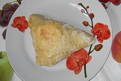 Kartoffeltaschen mit Zucchini - Quarkfüllung