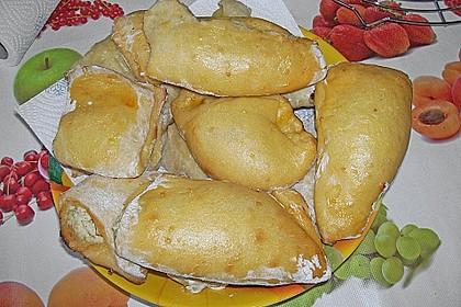 Kartoffeltaschen mit Zucchini - Quarkfüllung 3