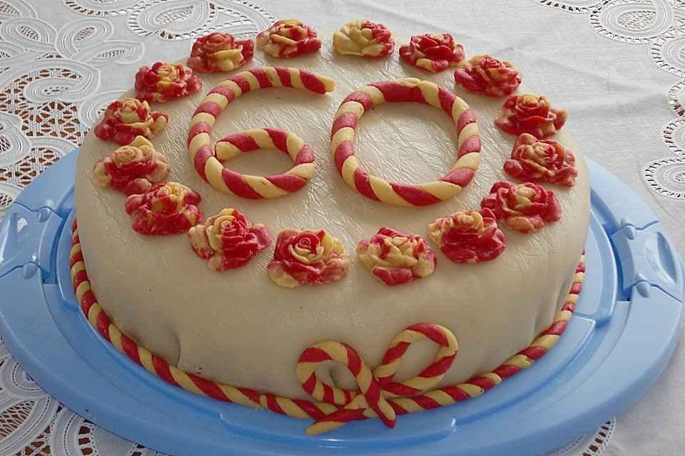 Marzipantorte rezept mit bild von scarlett1955 - Torten dekorieren mit marzipan ...