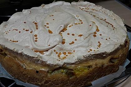 Rhabarberkuchen mit Baiser 91