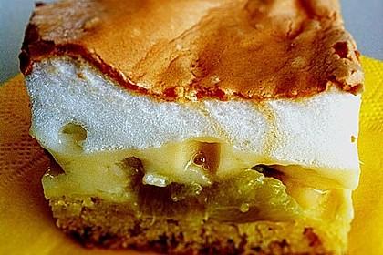Rhabarberkuchen mit Baiser 44
