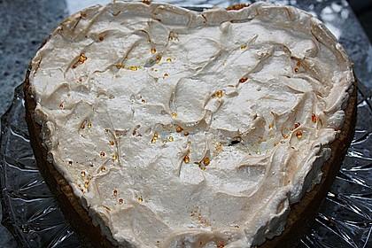 Rhabarberkuchen mit Baiser 85
