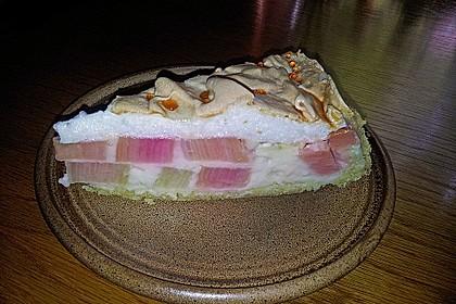 Rhabarberkuchen mit Baiser 30