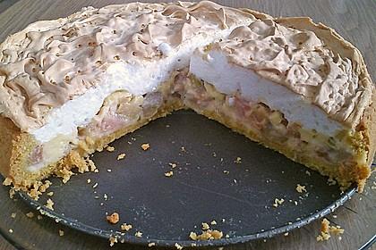 Rhabarberkuchen mit Baiser 45