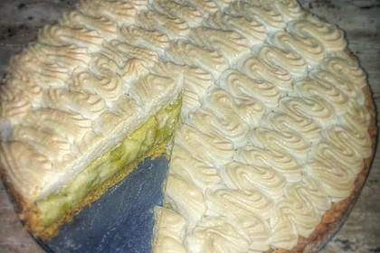 Rhabarberkuchen mit Baiser 16