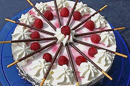 Erdbeer - Jogurt - Torte