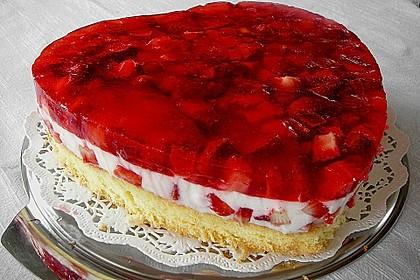 Erdbeer - Jogurt - Torte 1