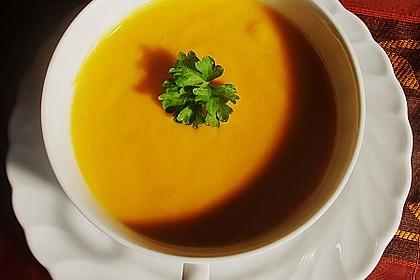 Möhren - Cremesuppe 2