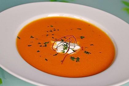 Möhren - Cremesuppe 1